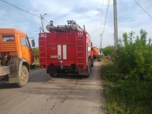 Для тушения пожара привлечено 118 человек и 25 едиництехники.