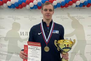 В финале он обыграл Олимпийского чемпиона Тимура Сафина.