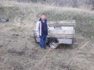 Вор в Самарской области украл прицеп, решив, что это хорошая вещь
