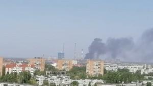 В Тольятти загорелись склады