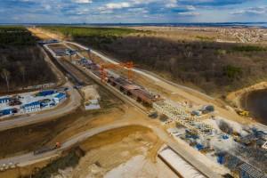 Реализация концессионного соглашения строительства обхода города Тольятти с мостом через Волгу идет с опережением графика.