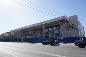 Работы на ледовом дворце спорта на Молодогвардейской в Самаре завершаются по графику