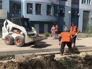 В Самаре подрядчик уже на треть справился с обновлением улицы Луначарского