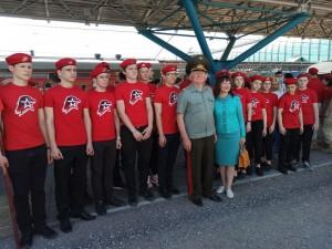 В Самаре 120 юношей и девушек вступили в ряды «Юнармии» в ходе акции «Мы – армия страны! Мы – армия народа!»
