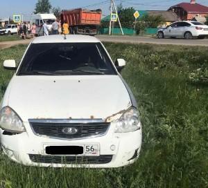 В Волжском районе водитель сбил мальчика на пешеходном переходе