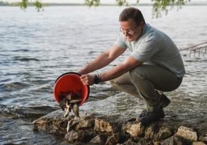 Дмитрий Азаров призвал самарцев бережно относиться к великой реке.