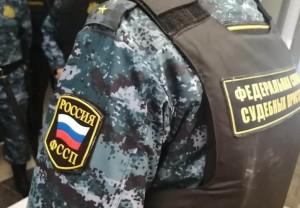Житель Хворостянского района пытался избежать встречи с приставами, убегая огородами