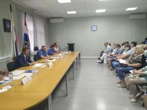 В Промышленном районе Самары прошел обучающий тренинг для председателей МКД