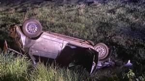 Смертельное ДТП в Богатовском районе: машина перевернулась в кювет