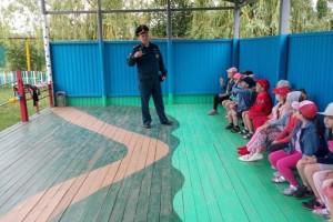 Который рассказал детям об опасных чрезвычайных ситуациях, происходящих в природе и быту по вине самих жителей.