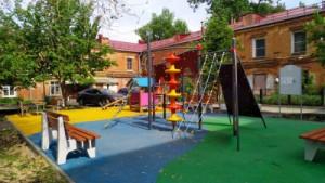 в Самарском районе в этом году благоустроят 6 дворовых территорий