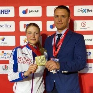 В финале она победила Яну Мессершмидт из Германии.