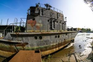 Под Самарой на Волге обнаружили корабль-призрак