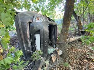 Машина в кювете: авария произошла в Кинельском районе