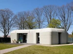 В ближайшее время в Нидерландах напечатают бетоном еще четыре дома.