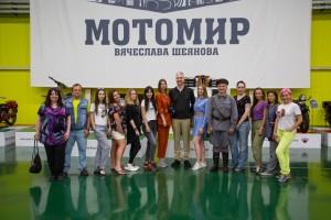Элиту мотостроения презентовали на ретро-фестивале в Самарской области
