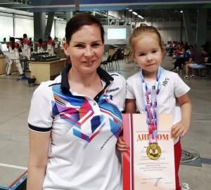 СпортсменкаСамарской областиНаталья Валаевазавоевала золотую медаль.