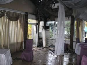 Тольяттинец поссорился с персоналом и сжег ресторан