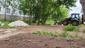 В Красноглинском районе запланировано обновление пяти территорий дворов