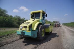 Протяжённость ремонтируемого участка автодороги 16 километров, от села Большая Глушица, на выезд, в сторону села Пестравка.