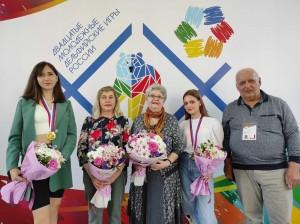 И заняла 4-е командное первенство среди 65 регионов России.