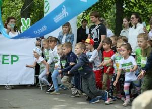 Почти 16 тыс. человек приняли участие в Зелёном Марафоне Сбера в Самаре