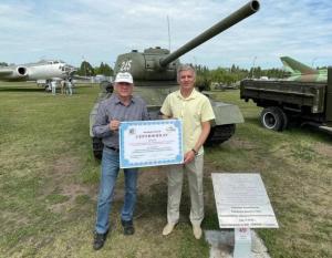 Андрей Трифонов поможет обновить внешний вид танков, «Студебеккера» и «Катюши» в музее техники.