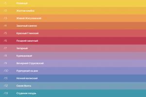 До финала голосования по выбору цветового решения забора Самарской ГРЭС осталось 3 дня
