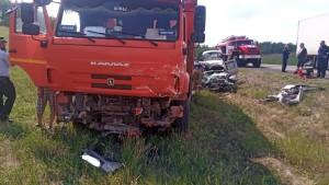 Погибли водитель и пассажир легковушки.