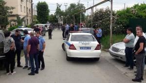 Полиция задержала стрелявшего.