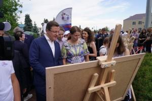 Организаторы проекта представляют посетителям 24 интерактивных экспоната, каждый из которых повествует о знаковом периоде в истории Самарского края.