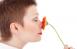 Девушка поняла почему с детства страдаласиндромом постоянной заложенности носа.