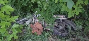 В Жигулевске водитель на мопеде врезался в столб