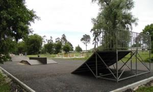 Скейт-площадка, фонтан, внутриквартальные проезды:  в Шигонском районе идут работы по благоустройству