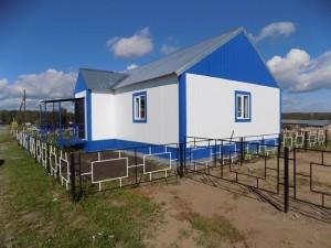 На сегодняшний день подрядной организацией ведутся работы по устройству основания фельдшерско-акушерского пункта.