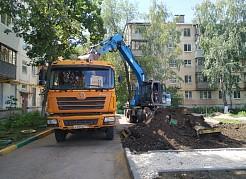 Благоустройство всех дворовых территорий в Железнодорожном районе будет завершено в сентябре 2021 года.