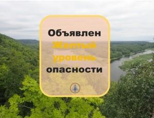 Соблюдайте запрет на посещение лесов.