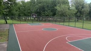 """1 июля здесь состоятся матчи""""BasketNights""""."""