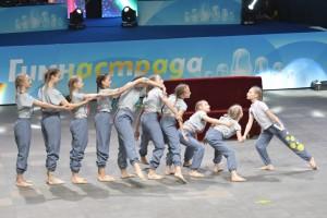 Во Дворце гимнастики Ирины Винер-Усмановой состоится финал общероссийского фестиваля гимнастических видов спорта и различных танцевальных направлений Гимнастрада.