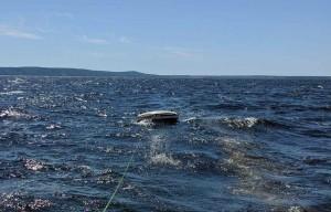 В Самарской области на Волге в беду попала лодка с подростками