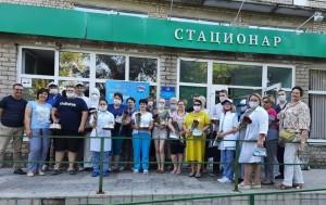 Спасибо, что спасаете жизни! - массовая кампания благодарности медработникам региона проходит в Самарской области