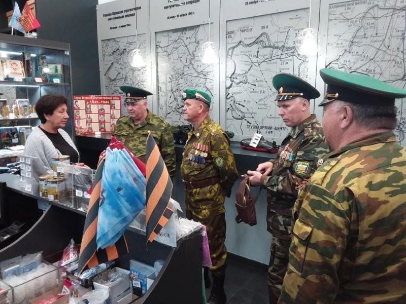 Ветераны-пограничники доставят в Самару частицу памяти земляков, геройски погибших при защите Отечества