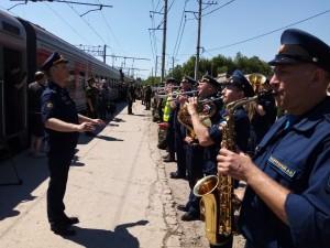 В Сызрани прошел митинг, посвященный отправке воинского эшелона в Дальневосточный военный округ
