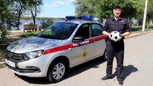 Военнослужащие Центра подготовки личного состава Приволжского округа Росгвардии сняли видеоролик в поддержку сборной России по футболу