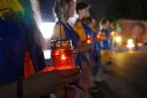 Более 10 тысяч свечей зажгли в Самаре в память о героях Великой Отечественной войны