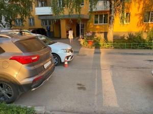 В Самаре водитель сбил мальчика во дворе