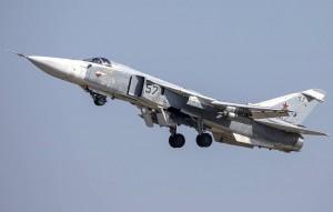 Кроме того, российский бомбардировщик Су-24М выполнил предупредительное бомбометание для остановки нарушения российской государственной границы в Черном море.