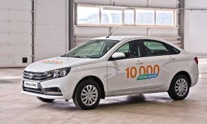В битопливных автомобилях LADA в качестве топлива применяется как бензин, так и сжатый природный газ метан, являющийся самым экологичным и недорогим.