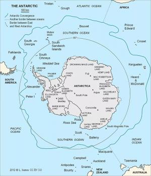 На карте мира появился новый океан