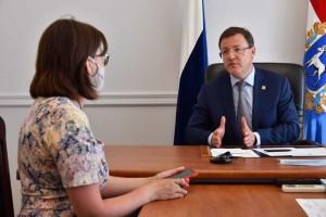 Дмитрий Азаровпровел личный прием граждан в приемной Президента России